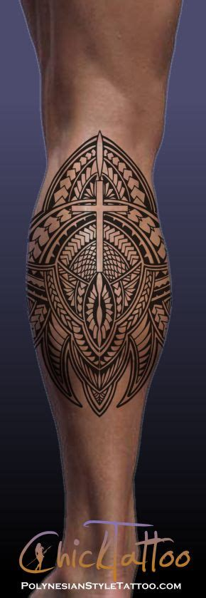 polynesian cross tattoo best 25 polynesian leg ideas on