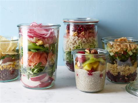 meals in a jar meals in mason jars food network recipes dinners and