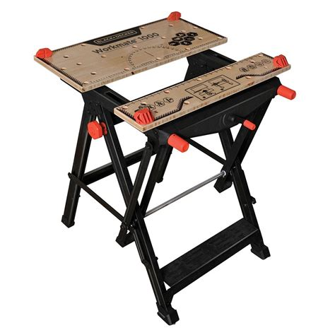 workmate work bench workmate 174 1000 portable work center and vise bdst11000