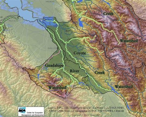 san francisco river map san francisco estuary partnership 187 mercury in the guadalupe