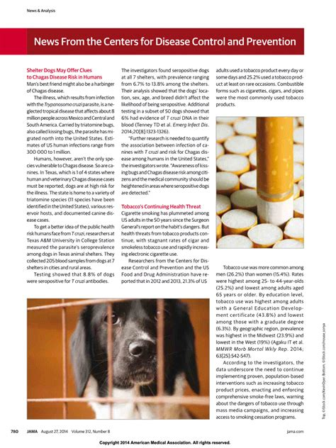 chagas disease in dogs jama network jama shelter dogs may offer clues to chagas disease risk in humans