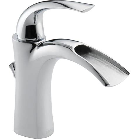 shop delta nyla chrome 1handle single hole watersense
