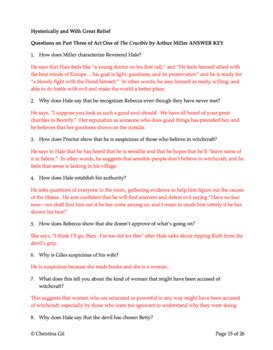 quiz questions no answers collection of the crucible worksheet answers bluegreenish