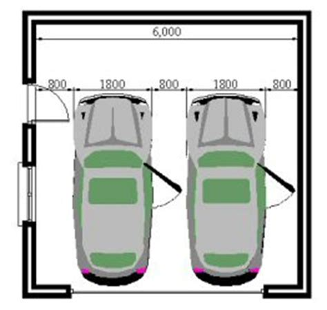 double car garage dimensions faq garage sizes
