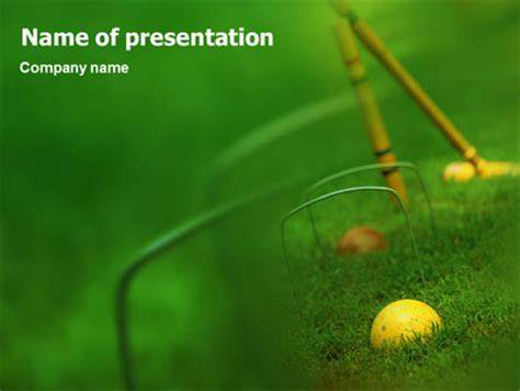 ppt templates for cricket free download cricket presentation template for powerpoint and keynote
