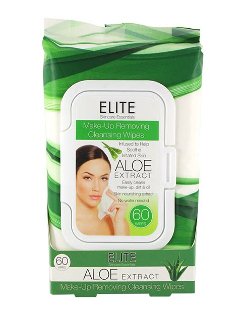 Elite 2 Detox Reviews by Elite Make Up Removing Cleansing Wipes Aloe 60ct