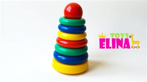 kid s toys color stack rings colours for children