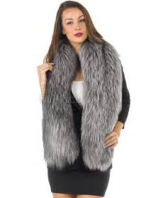 Home Design Outlet Center The Addison Silver Fox Fur Stole Furhatworld Com