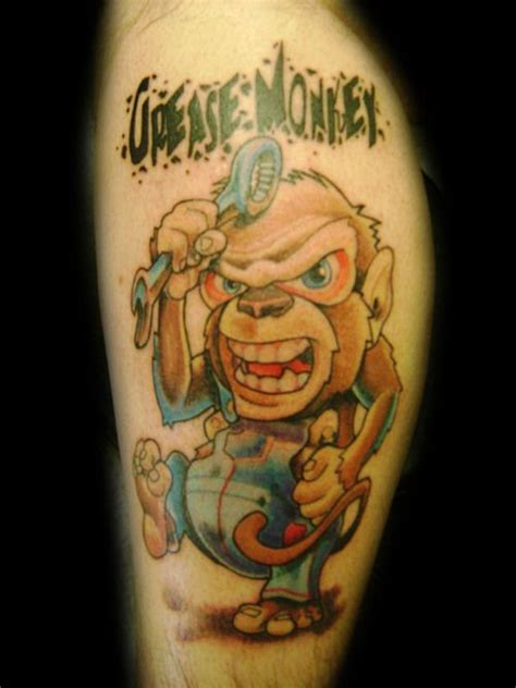 grease monkey tattoo 22 best greasemonkey designs images on