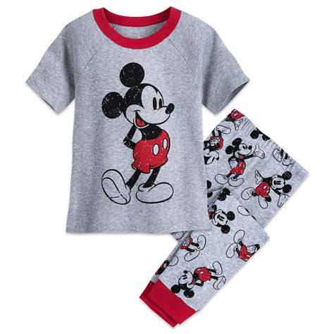 Pajamas Glow In The Tsum Tsum Friends Set 2in1 Baju Celana mickey mouse friends disney