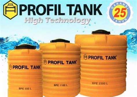 Air Terbaru harga tandon air merk profil tank penguin dll april 2018 murah terbaik