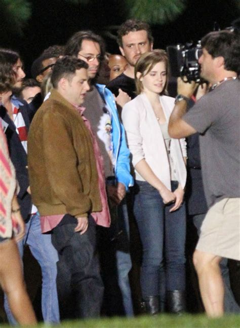 emma watson james franco movie emma watson in rihanna celebs film quot the end of the world