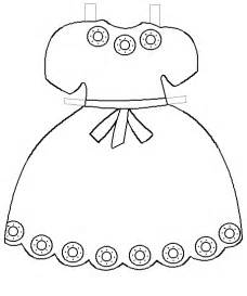 dress a doll template printable clothes templates paper doll project 4