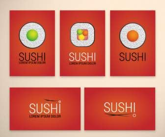 Sushi Gift Card - chopsticks vector misc free vector free download