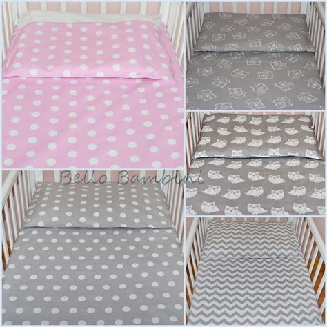 Baby Cot Duvet Cover Sets by 2 Pcs Nursery Baby Bedding Set Pillowcase Duvet Cover 4