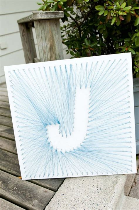How To Do String Letters - string letters wonderfuldiy