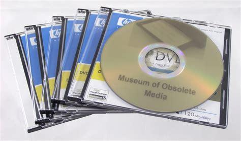 dvd format obsolete museum of obsolete media
