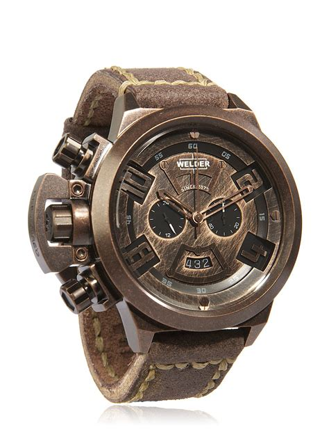 welder k 24 vintage chronograph in metallic for