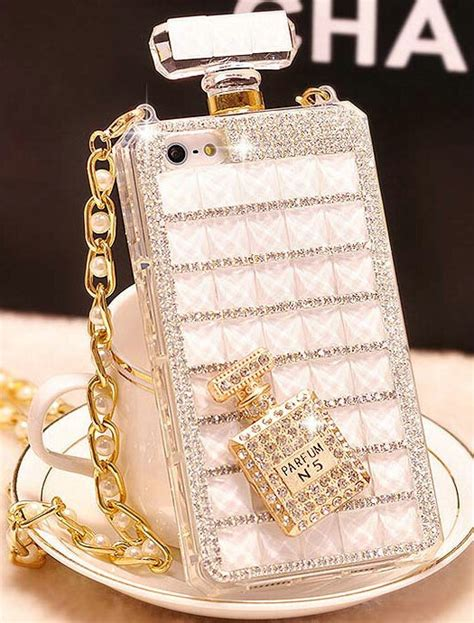 buy wholesale classic swarovski chanel perfume bottle parfum n5 rhinestone cases for iphone 6