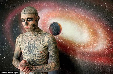 rick rocks tattoo gaga s born this way co rick genest covered in