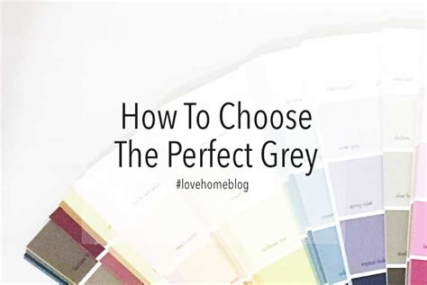 how to pick the perfect gray paint a popular color how to choose the perfect grey jo chrobak