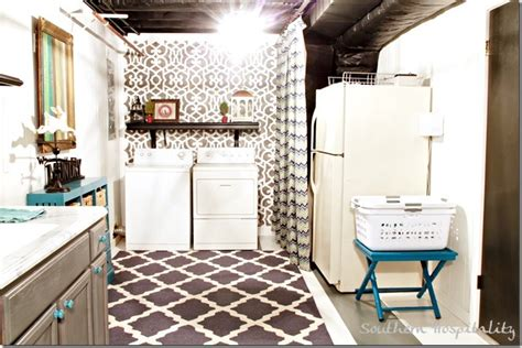 basement laundry room makeover my laundry room makeover finale southern hospitality