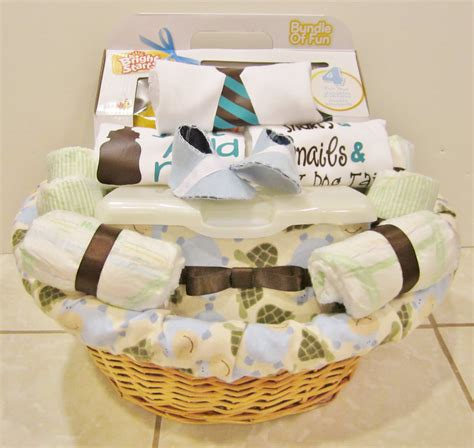 Handmade Baby Baskets - baby gift baskets in the motherhood baby shower