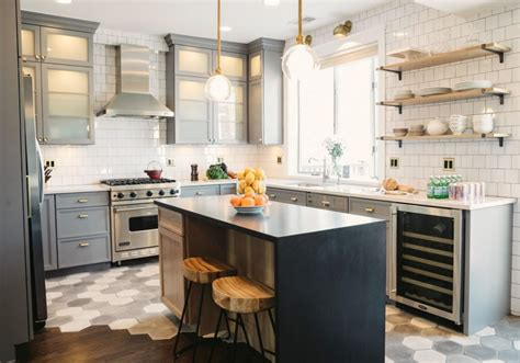 10 sparkling kitchens with open shelving open kitchen shelving free online home decor techhungry us