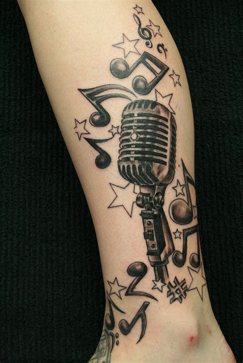 music mic tattoo designs tattoos designs ideas and meaning tattoos for you