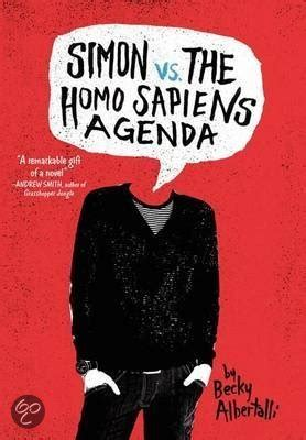 simon vs the homo bol com simon vs the homo sapiens agenda becky albertalli 9780062348678 boeken