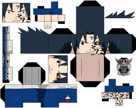 Sasuke Papercraft - sasuke vs cs1 by hollowkingking on deviantart