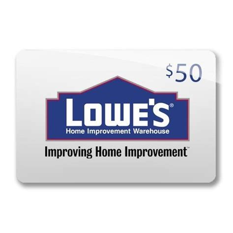 Lowes Com Gift Card - lowe s gift card