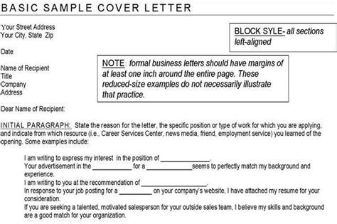 exle simple cover letter cover letter exles free premium templates