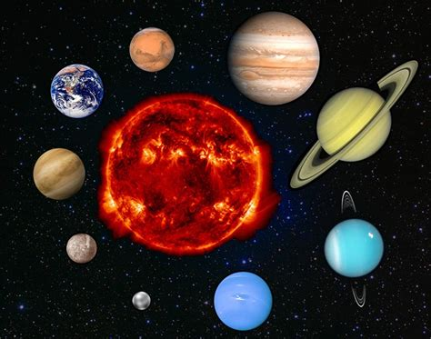 what colors are the planets solar system planets colors pics about space
