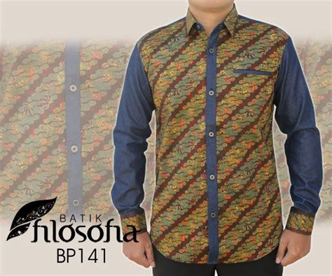 F7231 Kemeja Bahan Katun Denim kode bp141 kemeja batik katun printing kualitas premium