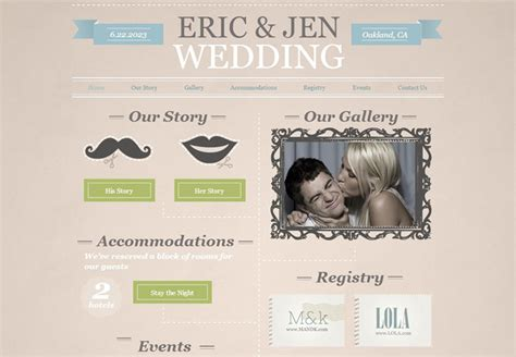 How to Create an Unforgettable Wedding Website