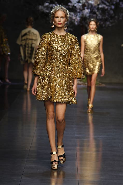 Gold Fashion dolce gabbana gold dress duchesse or ange