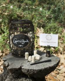 Personalized Leather Guest Book Wine Cork Cage Guestbook For A Vineyard Wedding Wine Country Occasions