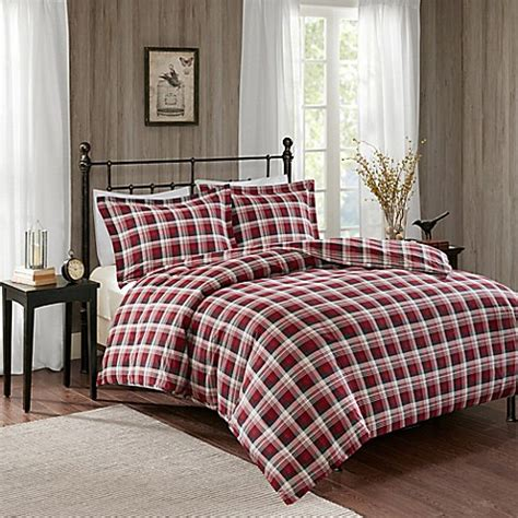 woolrich comforter sets woolrich 174 tasha flannel comforter set bed bath beyond