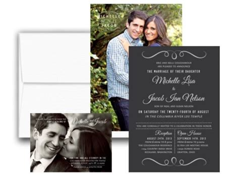Wedding Announcements Utah announcements invitations salt lake