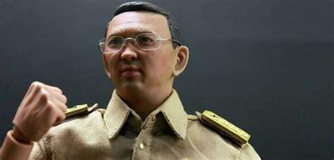 ahok action figure simbio six studio the governor