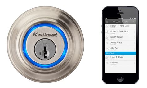 Wifi Front Door Lock Kwikset Outs Iphone Exclusive Wireless Door Lock