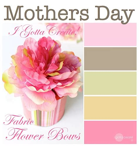 mothers day colors i gotta create lovely colors for mothers and babies