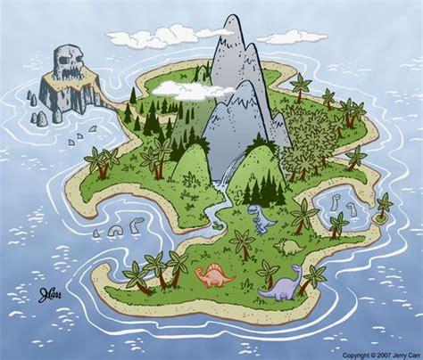 Bedroom Inspo Dinosaur Island By Jerrycarr On Deviantart Treasure Map