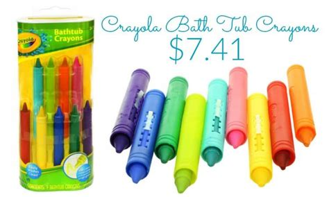 crayola bathtub crayons crayola bathtub crayons only 7 41 stocking stuffers