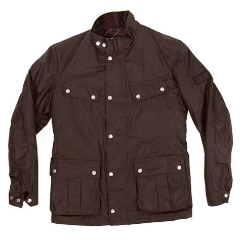 barbour duke jacket rustic brown mens jackets from attic