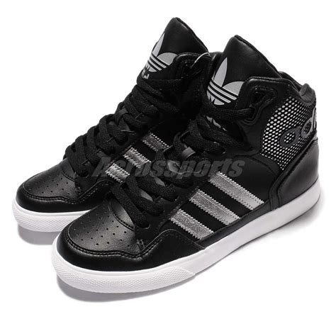 adidas originals extaball w black silver casual shoes sneakers by2336 ebay
