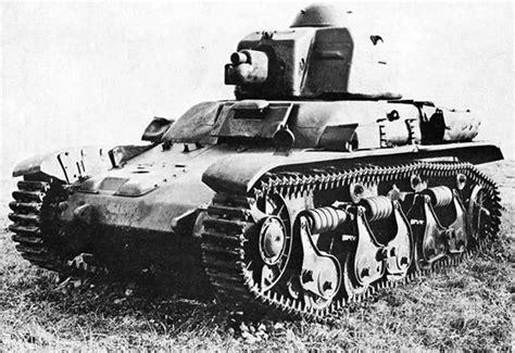 french renault tank renault r35 char leger modele 1935 r light tank