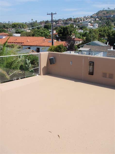 concrete deck resurfacing restores  rejuvenates tired decks