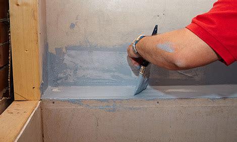 Waterproof Shower Membrane by How To Waterproof A Bathtub Bunnings Warehouse